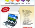 Eee najtańszy laptop TNX-9500 UMPC Via Windows Vista XP