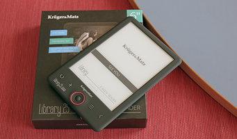 TEST   Kruger&Matz Library 2S – podświetlany czytnik e-booków za 400 złotych -