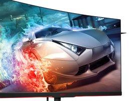 Monitor dla gracza AOC AG322QC4: zakrzywiony ekran, HDR400 i FreeSync 2 w dobrej cenie -