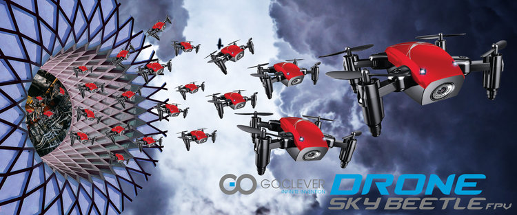 Goclever Sky Beetle FPV to tani, kompaktowy dron -